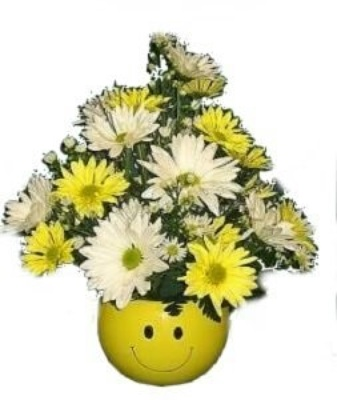 Dill's Don't Worry! Be Happy! Smile Bouquet from Dill's Floral Haven, local florist in Belleville, IL