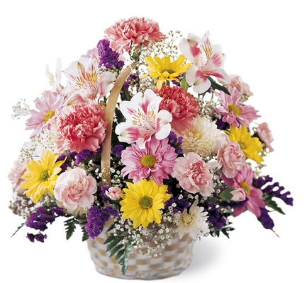 Basket of Cheer Bouquet from Dill's Floral Haven, local florist in Belleville, IL
